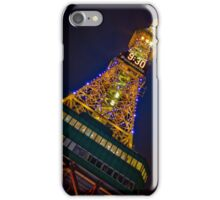 Sapporo TV Tower 9:30 iPhone Case/Skin
