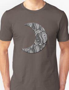 Paisley Yin Yang Moon T-Shirt