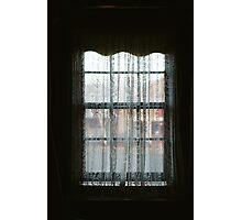 Window Lace Photographic Print