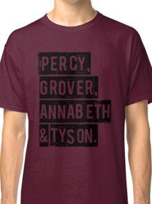 Percy, Grover, Annabeth & Tyson Classic T-Shirt