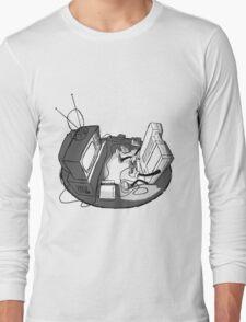 Playin' Ya'self - Black Long Sleeve T-Shirt