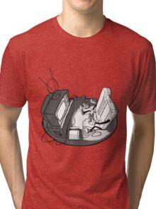 Playin' Ya'self - Black Tri-blend T-Shirt