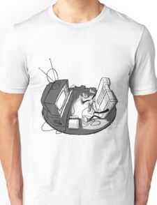 Playin' Ya'self - Black Unisex T-Shirt