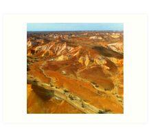 Painted Hills Art Print