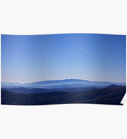 The Great Dividing Range Poster