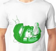 Playin' Ya'self - Green Unisex T-Shirt