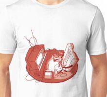 Playin' Ya'self - Red Unisex T-Shirt