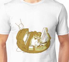 Playin' Ya'self - Yellr.Brownish Unisex T-Shirt