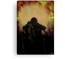 Another Day at the Office Canvas Print