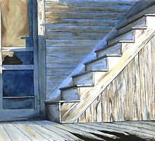 Back Stairs by Anthony Billings