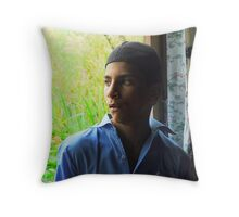 What Future lies in front of him Throw Pillow