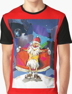 Santa Claus is Coming to Town! Graphic T-Shirt