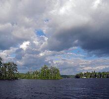 Three Islands and Cloud Mass by Lynda Lehmann