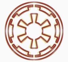 Galactic Empire Emblem (Acid Scheme) Kids Clothes