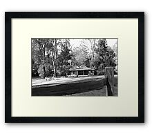 Coal Creek, Miner's House Framed Print