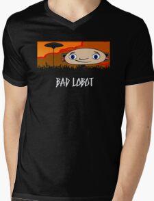 Bad Lobot Mens V-Neck T-Shirt