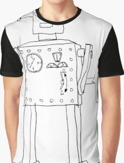robot vintage toy cute art Graphic T-Shirt