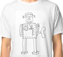 robot vintage toy cute art Classic T-Shirt