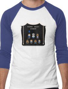 PLEASE SELECT STUDENT Men's Baseball ¾ T-Shirt