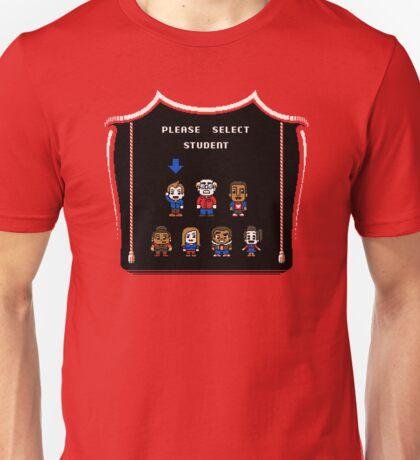 PLEASE SELECT STUDENT Unisex T-Shirt