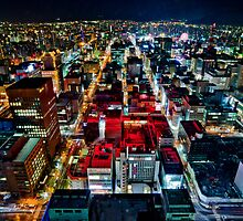 A Peaceful City - Sapporo , Japan ( Without Billboard )  by sxhuang818