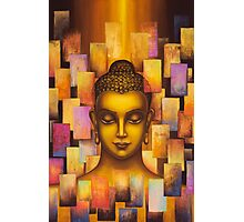 Buddha. Rainbow body Photographic Print