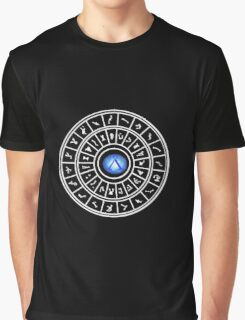 Stargate: Dialing Ring - Dark Backgrounds Graphic T-Shirt