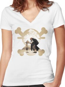 The Will of the D. Women's Fitted V-Neck T-Shirt