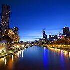 Melbourne Princess Bridge by becmcinnes
