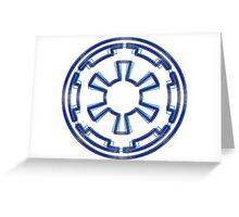 Galactic Empire Emblem (Alkali Scheme) Greeting Card