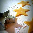 Christmas Cookie Cutter Stars  by Pamela Burger