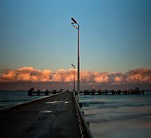 Lancelin Jetty by Pene Stevens