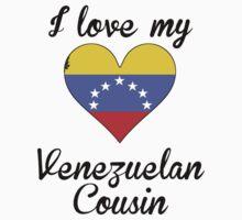 I Love My Venezuelan Cousin Kids Tee