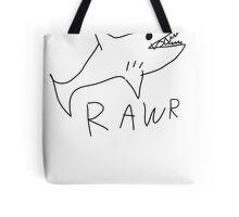 Shark RAWR Tote Bag