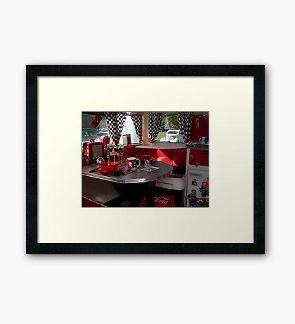 Betty Boop at Coolangatta Framed Print