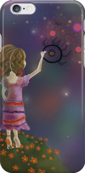 Dreamcatcher iPhone Case by Kristy Spring-Brown