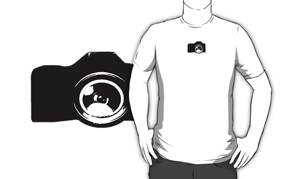 My Camera Tee by YasLalu