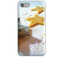 Christmas Cookie Cutter Stars iPhone Case/Skin