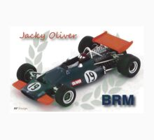 Jacky Oliver BRM by harrisonformula