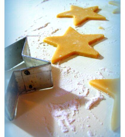 Christmas Cookie Cutter Stars Sticker