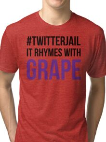 It Rhymes with Grape Tri-blend T-Shirt