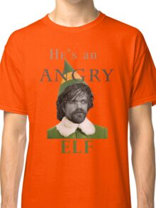 Angry Elf  Classic T-Shirt