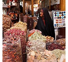 Shopping at the Souk Photographic Print