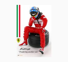 "Alonso ""Pondering another win"" Unisex T-Shirt"