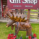 Moose shop, Talkeetna, Alaska. 2012. by johnrf