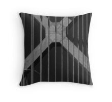 "Marked with a ""X"" Throw Pillow"