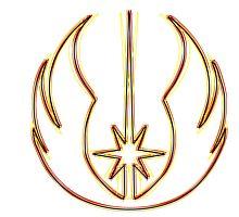 Jedi Order Emblem (Acid Scheme) by GekiDesign