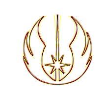 Jedi Order Emblem (Acid Scheme) Photographic Print