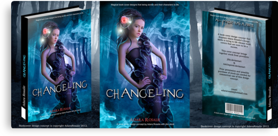 Changeling Book Cover Concept by Adara Rosalie