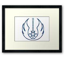 Jedi Order Emblem (Alkali Scheme) Framed Print